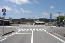 森本中央大橋(右折)